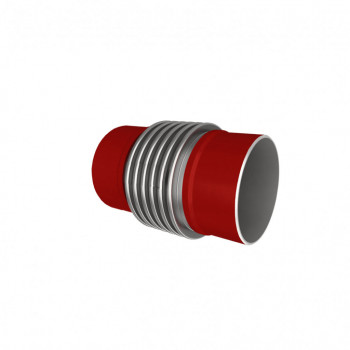 Компенсатор сильфонный осевой КСО ДУ100 с давлением 16 бар (Арт. EK-100-16-46-P-P)