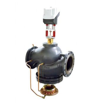 Клапан балансировочный Danfoss AB-QM Ду200 с измерительными ниппелями фланцевый 003Z0707