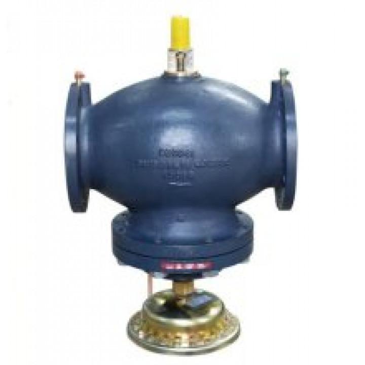 Балансировочный клапан Danfoss AB-QM Ду100 с измерительными ниппелями фланцевый 003Z0775