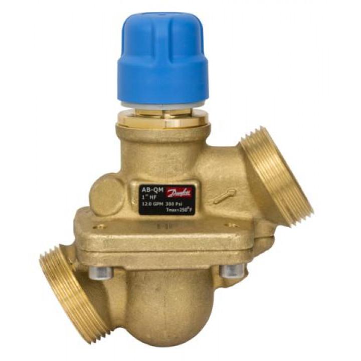 Комбинированный балансировочный клапан Danfoss AQT Ду25 без измерительных ниппелей 003Z1804