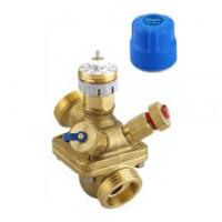 Комбинированный балансировочный клапан Danfoss AQT Ду15 c измерительными ниппелями 003Z1812