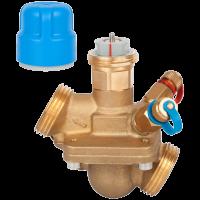 Комбинированный балансировочный клапан Danfoss AQT Ду32 c измерительными ниппелями 003Z1815