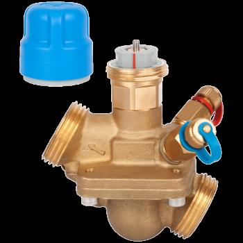 Автоматический балансировочный клапан р/р AQT c измерительными ниппелями, Danfoss, Ду15 LF 003Z1862