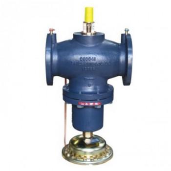 Комбинированный балансировочный клапан Danfoss AQF Ду125 с измерительными ниппелями фланцевый 003Z1905
