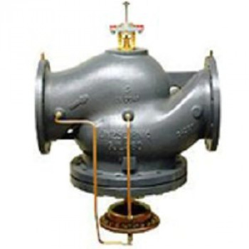 Комбинированный балансировочный клапан Danfoss AQF Ду250 с измерительными ниппелями фланцевый 003Z1908