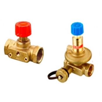 Комплект балансировочных клапанов Danfoss ASV-PV+ASV-M Ду25 003Z2203