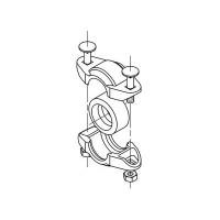 Трубная муфта PJE DN50 EPDM без патрубков Grundfos 00ID2643