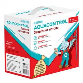 Система защиты от протечек латунь никелированное Aquacontrol G1/2 Ду 15 Ру40 ВР Neptun 013-1174