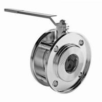 Кран шаровой сталь Стриж Ду 50 Ру16 межфл полнопроходной оцинкован L=75мм LD050.016.02.Zn