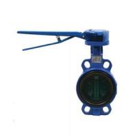 Дисковый поворотный затвор межфланцевый VFY-WH с рукояткой, Danfoss, Ду100 065B8403