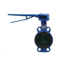 Дисковый поворотный затвор межфланцевый VFY-WH с рукояткой, Danfoss, Ду150 065B8405