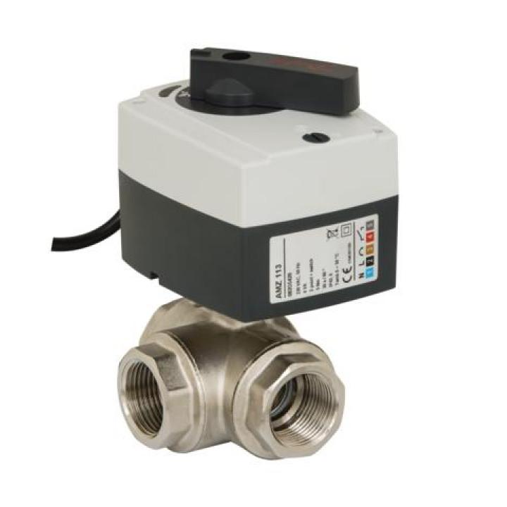 Клапан шаровой Danfoss AMZ 113; ду25; 220V 082G5420