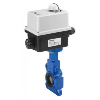 Дисковый затвор Danfoss VFY-WA диск - чугун Тмакс = 120 °С с электроприводом AMB-Y 230 В Ду500 082X3102
