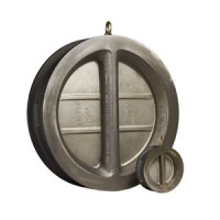 Обратный клапан двухстворчатый межфланцевый, тип Ридан-ЗОД, Danfoss, Ду250 082X4057