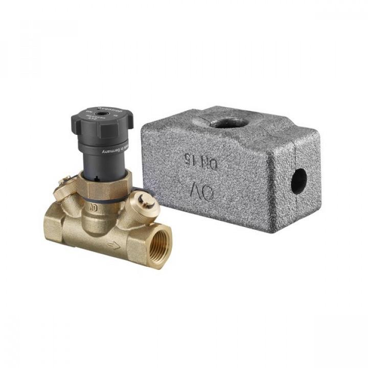 Вентиль запорный, Hycocon ATZ, DN-20, 3/4, ВВ, PN, бар-16, измерительная техника eco 1067306