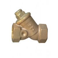 Клапан обратный, пружинный, для отопления, DN-15, 1/2, ВВ, PN, бар-25, с уплотнением из фторкаучука 1072004
