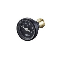 Термометр для переоборудования, цвет - антрацит, Ду 20 и 25 1077182