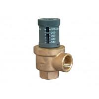 Клапан перепускной, DN-25, 1, ВВ, PN, бар-10, 0,05-0,5 бар, бронза/латунь 1085208