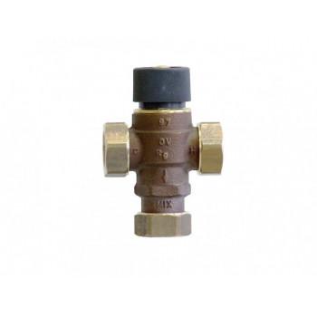 Вентиль, Brawa-Mix, смесительный термостатический, трёхходовой, DN-20, НГ 1