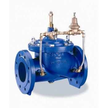 C101 Клапан регулирующий Ду150, Ру16 в сборе с пил/конт 149B10112N