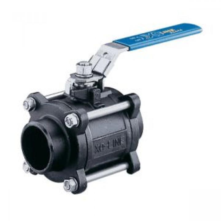 Шаровой стальной кран полнопроходной сварка/сварка SOCLA X3444B, Danfoss, Ду50, 40 бар 149В6059В