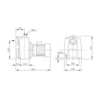 Самовсасывающий насос LPC 50/25 Wilo-Drain LPC 2081660