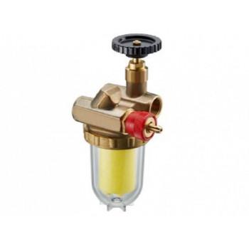 Фильтр жидкого топлива Oilpur с перемычкой насос-фильтр Ду15, 1/2, патрон Siku 50-75 2122262
