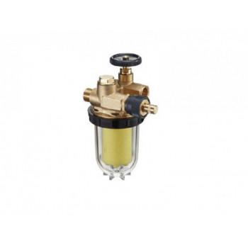 Фильтр жидкого топлива Oilpur с перемычкой насос-фильтр Ду10, 3/8, патрон Siku (пластиковый) 50-75 2122561