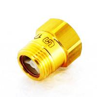Обратный клапан компактный, латунный, под ключ, Uni-Fitt, Ду15 227G2000