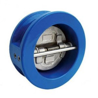 Обратный клапан двухстворчатый межфланцевый, тип 2401, Genebre, Ду200 2401 16