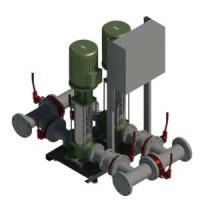 Установка пожаротушения CO-2 HELIX V 3606/2/SK-FFS-D-R Wilo2453024