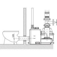 Установка канализационная DrainLift S 1/6M RV (1~) Wilo2544876