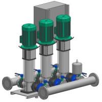 Установка повышения давления COR-3 HELIX V 1003/CC-EB-R Wilo2785619