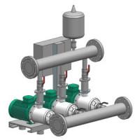 Установка повышения давления CO-2 MVIS 803/CC-EB-R Wilo2789382