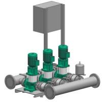 Установка повышения давления COR-3 MVI 7004/SKw-EB-R Wilo2799884