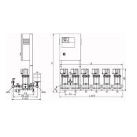 Установка повышения давления COR-2 MVIS 804/SKw-EB-R Wilo2897576