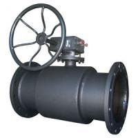 Кран шаровой сталь 11с67п Ду 300 Ру16 фл с редуктором Titan2ЦФ.00.3.016.300