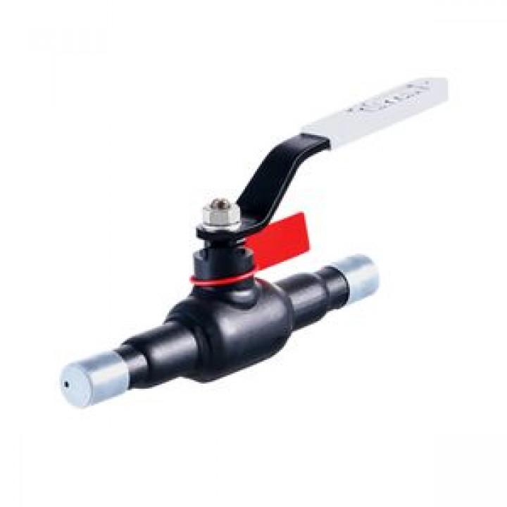 Кран шаровой сталь 11с67п Ду 250 Ру25 п/привар с редуктором Titan2ЦП.00.3.025.250