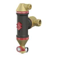 Сепаратор воздуха и грязи, Flamcovent Clean Smart 3/4, PN, бар-10, T°C -120 (ст.арт. FL 30041) 30041