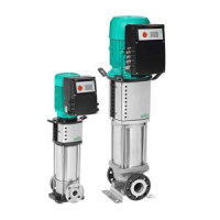 Насос многоступенчатый вертикальный HELIX VE 606-2/25/V/KS PN25 3х400В/50 Гц Wilo4161433