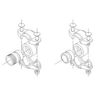 Трубная муфта PJE R 1 1/4'' PN80 Viton для насосов CRN 1, 3, 5 Grundfos (00) 419905