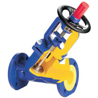 Клапан балансировочный Zetkama 443A Ду250, Ру16 443A-250-C-71