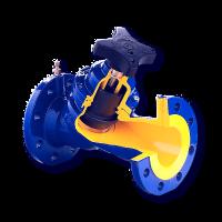 Клапан балансировочный Zetkama 447A Ду300, Ру16 447A-300-C-72