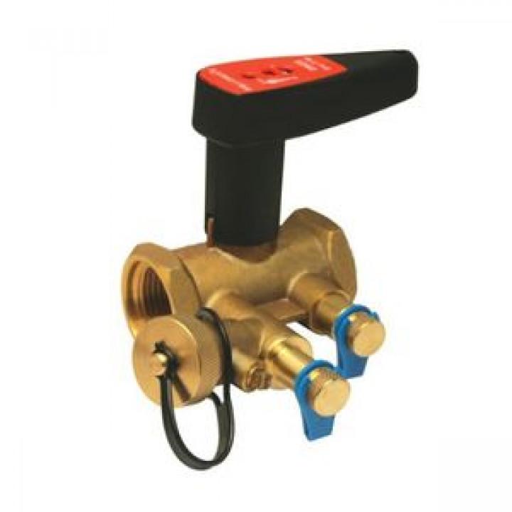 Балансировочный клапан р/р Ballorex V с дренажем, Broen, Ду25S 4551000S-001673