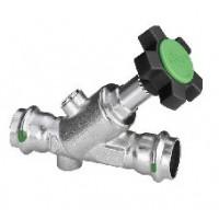 Вентиль-Easytop Inox (полнопрох), с пресс-соед-ями, с SC-Contur, DN 15 (18) 468408