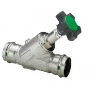 Вентиль-KRV-Easytop Inox (полнопрох), с обрат.клап, с пресс-соед-ями, с SC-Contur, DN 25 (28) 468491
