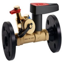 Балансировочный клапан ф/ф Ballorex Venturi FODRV с дренажём, Broen, Ду50 4855500H-001005