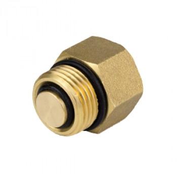 Клапан отсечной латунь 5002 Ду 15 Ру10 ВР/НР д/воздухоотвод Aquasfera5002-01