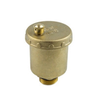 Воздухоотводчик автоматический латунь 5003 Ду 15 Ру10 G1/2 НР авт Aquasfera5003-01