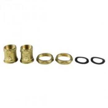 Вентиль шаровой с накидной гайкой ДУ32 G2XRP1 1/4 ВР (комплект) Grundfos 505539